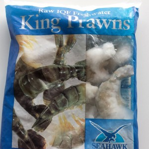Frozen Raw Peeled Black Tiger Prawns