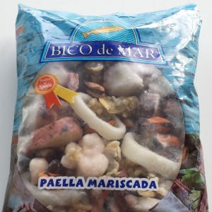 Frozen Seafood Paella Mix