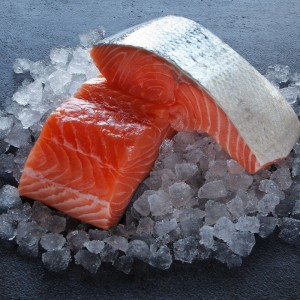 Skinless Salmon Fillet Portion