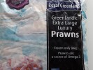 Frozen Royal Greenland Cooked Prawns