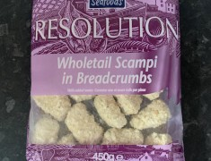 Frozen Wholetail Breaded Scampi