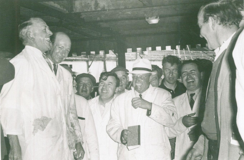 Dockside Seafood Old Photograph