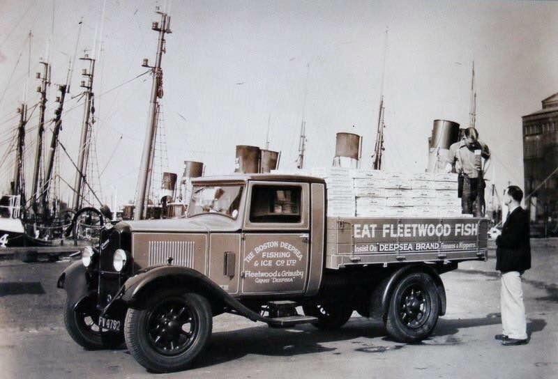 Dockside Seafood Old Photograph4